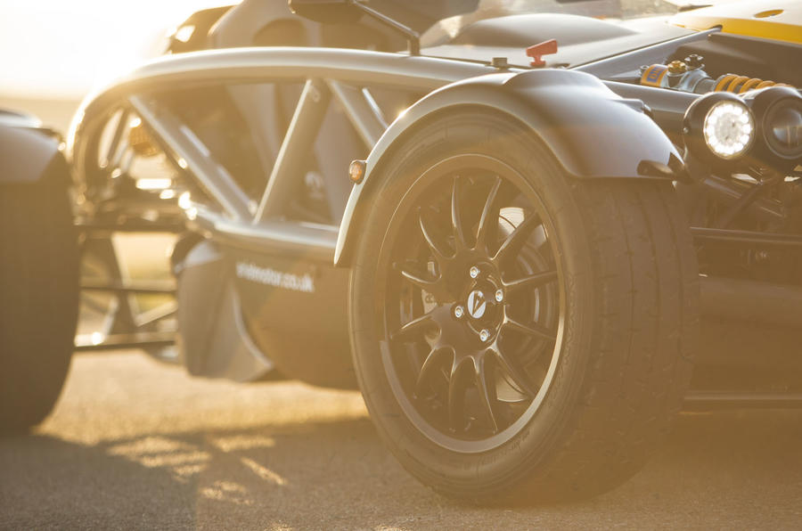 Ariel Atom 4 2019 road test review - alloy wheels
