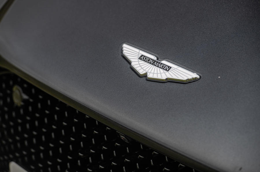 Aston Martin DBS Superleggera 2018 road test review - bonnet badge