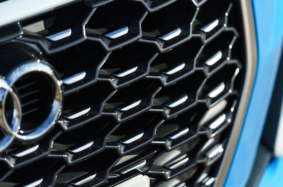 Audi Q3 Sportback 2019 road test review - front grille