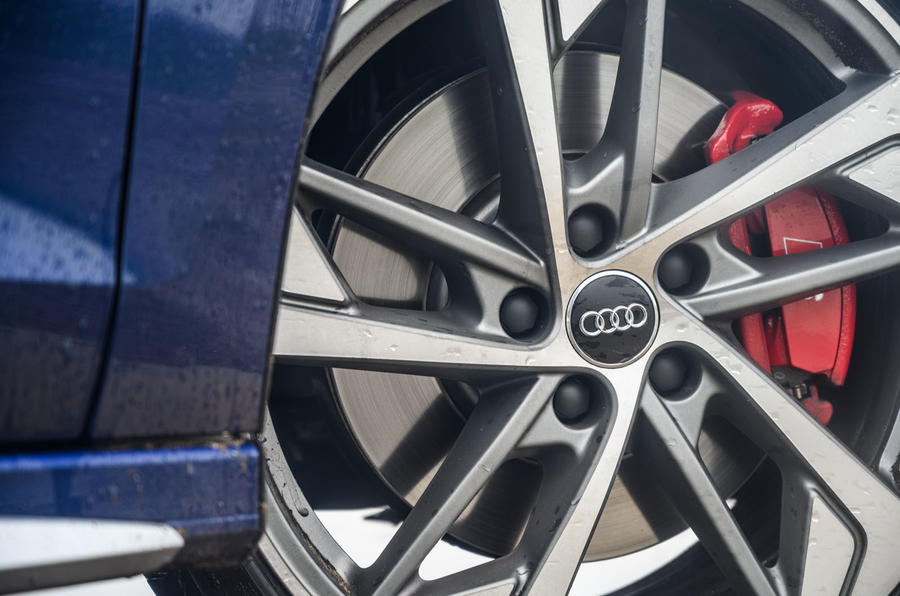 Audi S3 Sportback 2020 road test review - alloy wheels