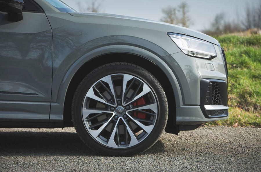 Audi SQ2 2019 road test review - alloy wheels