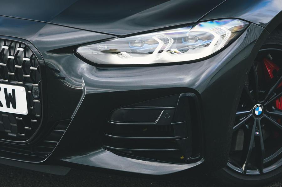 5 BMW Série 4 M440i : examen des essais routiers 2021 phares