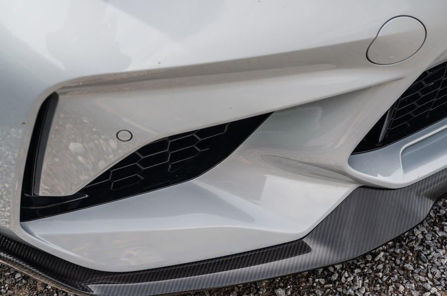 BMW M2 CS 2020 road test review - front bumper
