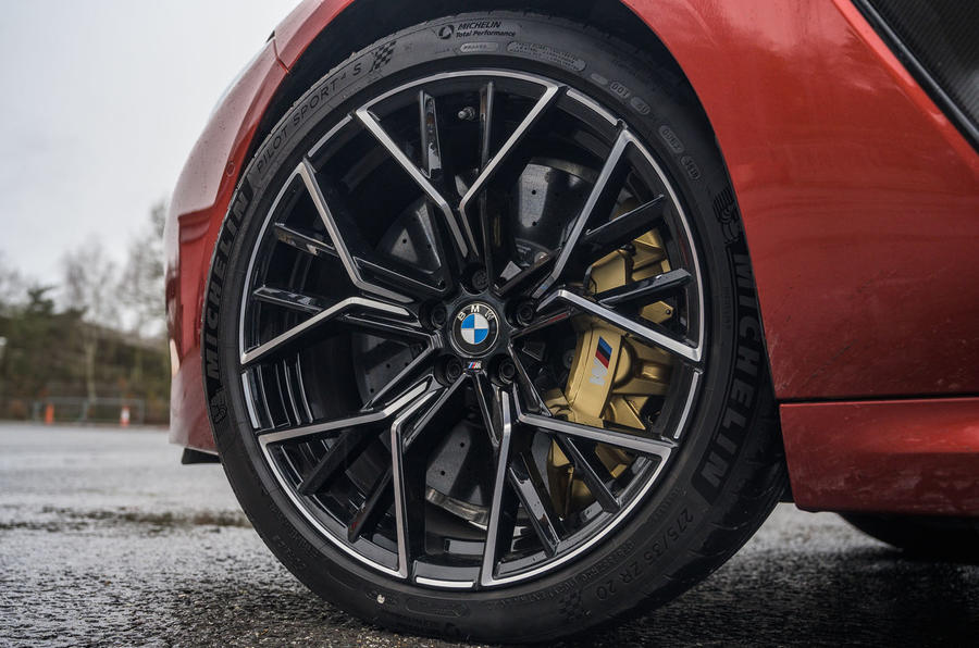 BMW M8 Competition convertible 2020 road test review - alloy wheels