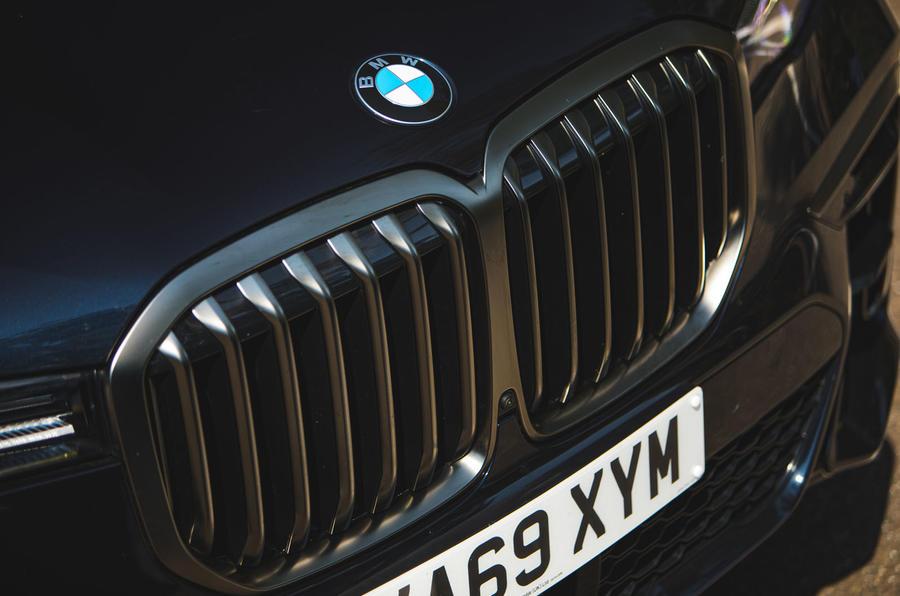BMW X7 2020 : examen de l'essai routier - nez
