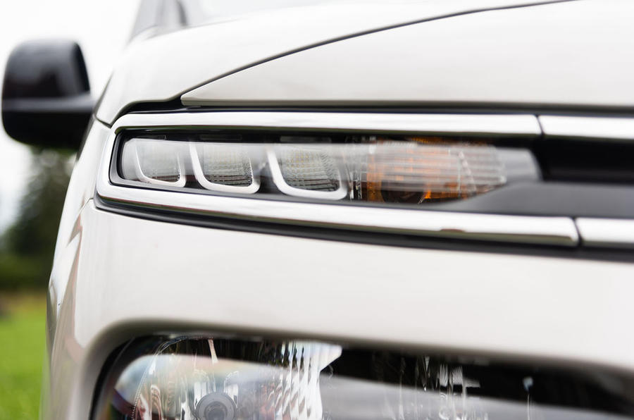 Citroen Berlingo 2018 road test review - headlights