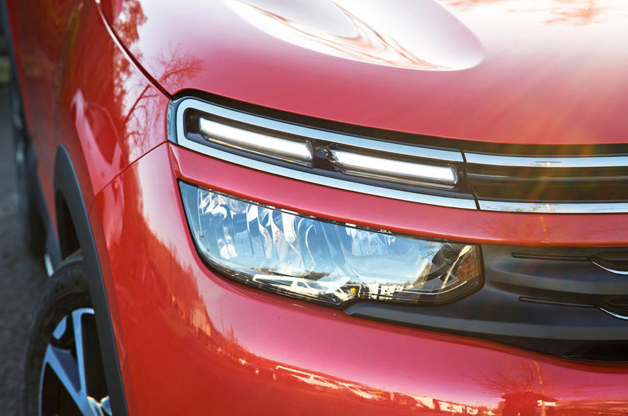 Citroen C5 Aircross 2019 road test review - daytime running lights