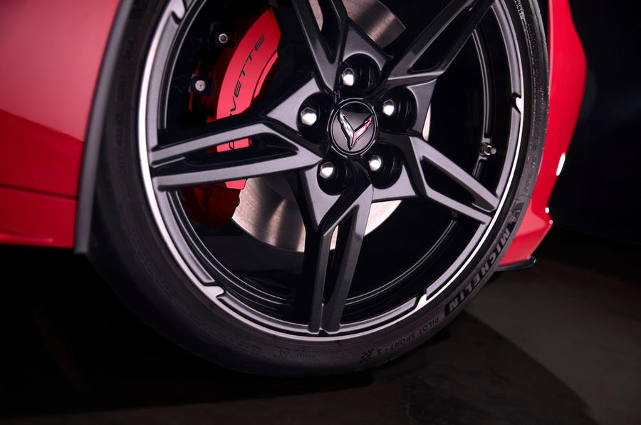 Corvette Stingray C8 2019 road test review - alloy wheels