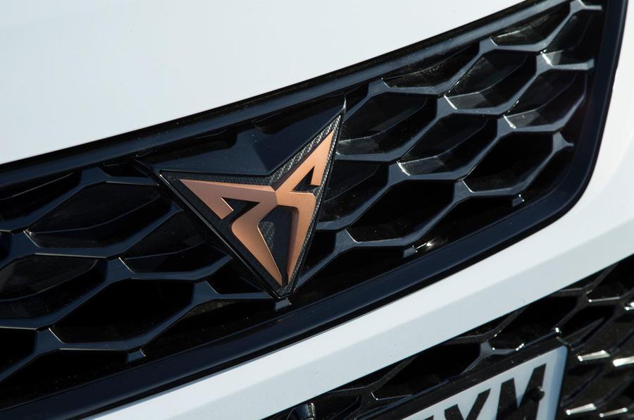 Cupra Ateca 2019 road test review - badge