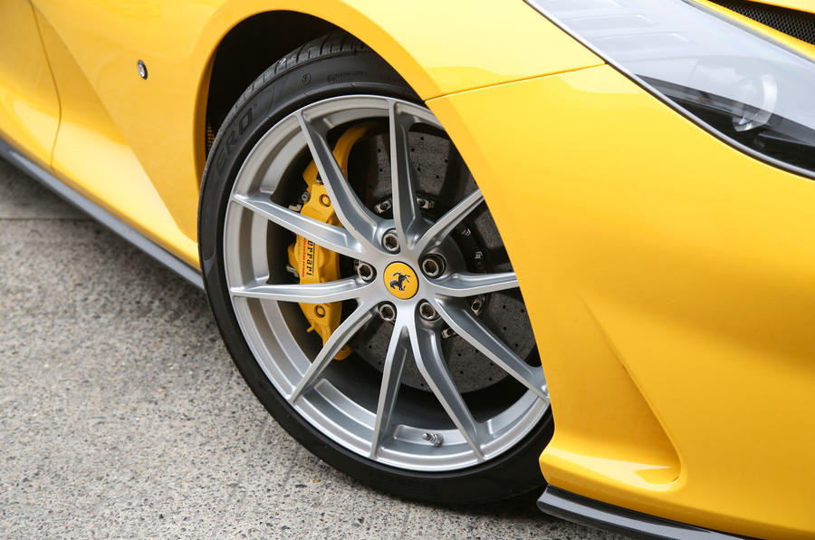 Ferrari 812 Superfast 2018 road test review alloy wheels