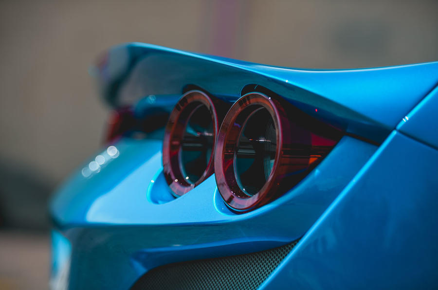 Ferrari F8 Tributo 2019 road test review - spoiler