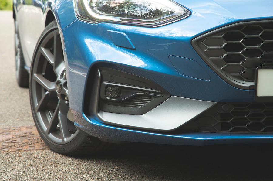 Ford Focus ST 2019 road test - front bumper