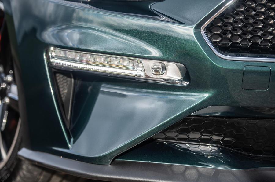 Ford Mustang Bullitt 2018 road test review - daytime running lights