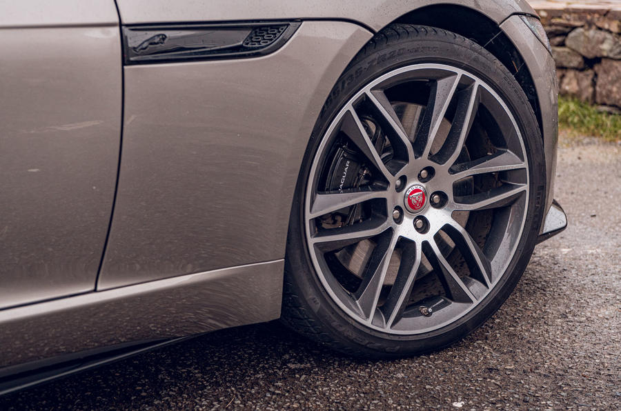 Jaguar F-Type 2020 road test review - alloy wheels