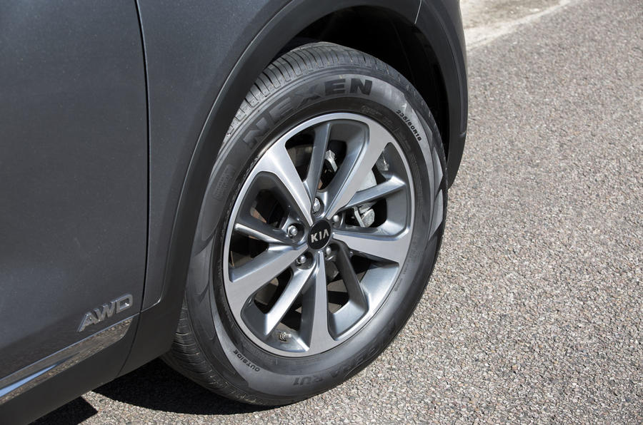 Kia Sorento 2018 road test review alloy wheels