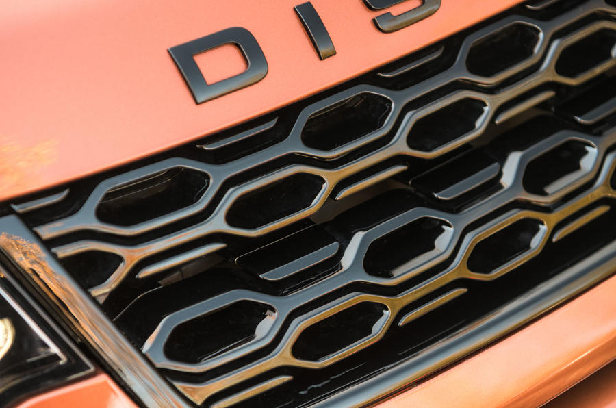 Land Rover Discovery Sport 2020 road test review - front grille