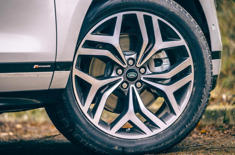 5 Land Rover Range Rover Evoque 2021 test routier revue des roues en alliage