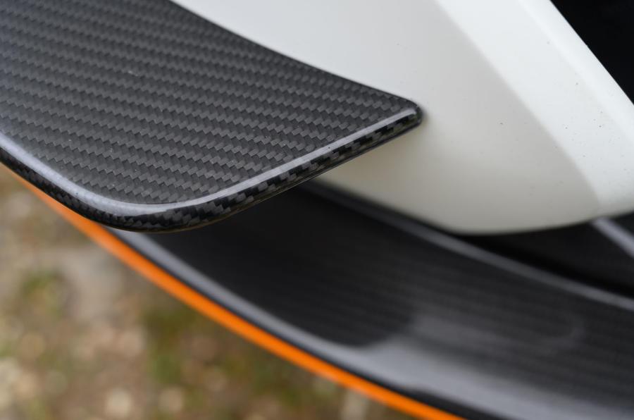 5 McLaren 620R 2021 road test review carbon fibre