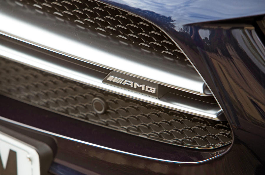 Mercedes-AMG CLS 53 2018 road test review - AMG nose badge