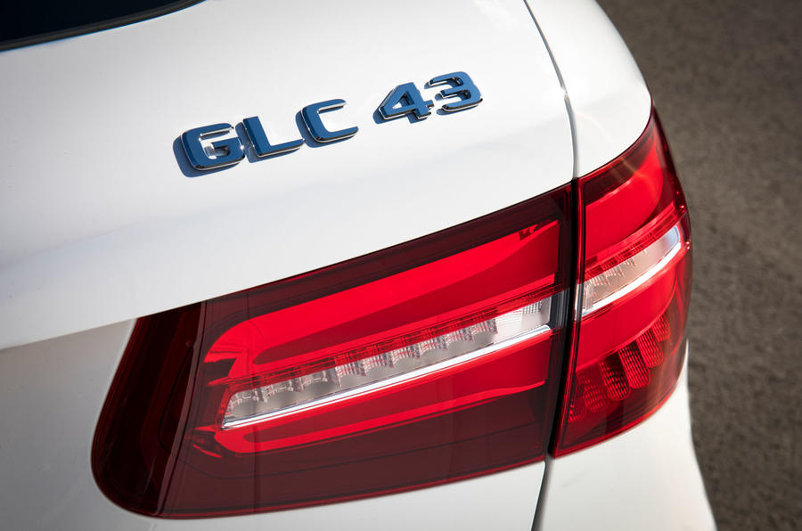 Mercedes-AMG GLC 43 road test review - rear badge