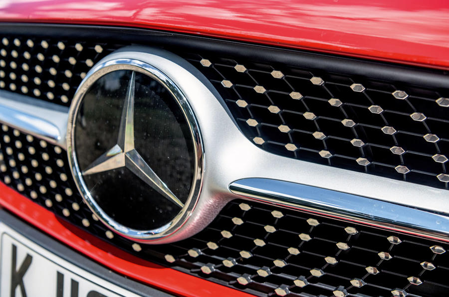 Mercedes-Benz CLA 2019 road test review - front grille