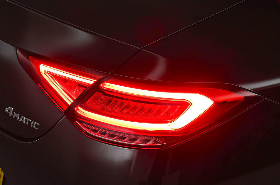 Mercedes-Benz CLS 400d 2018 review rear lights