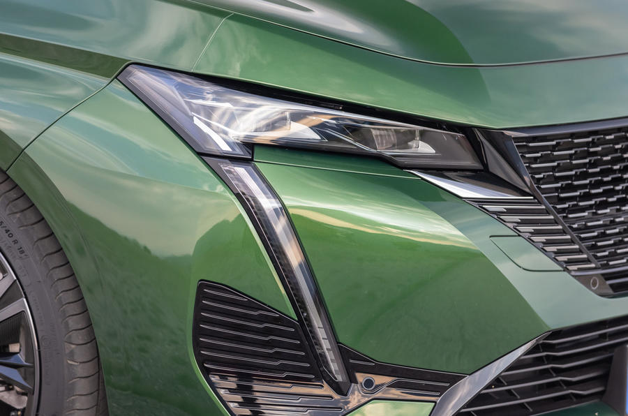 5 Phares de la Peugeot 308 2021, premier essai routier