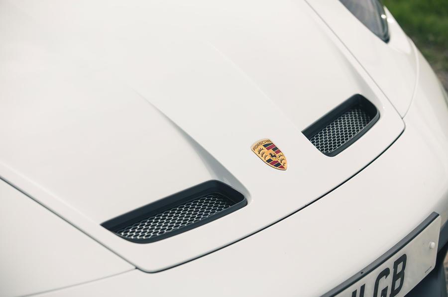 5 Grilles de capot de la Porsche 911 GT3 2021 RT