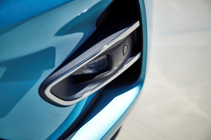 Renault Zoe 2020 road test review - front foglights