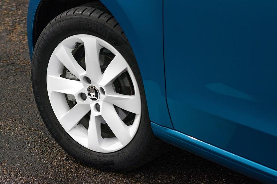 Skoda Citigo 2017 first drive review alloy wheels
