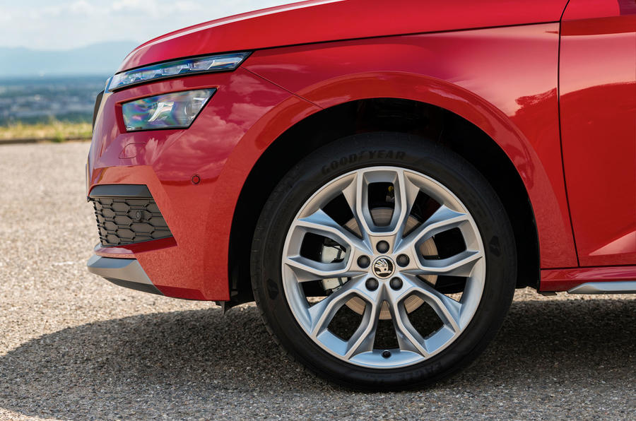 Skoda Kamiq 2019 road test review - alloy wheels