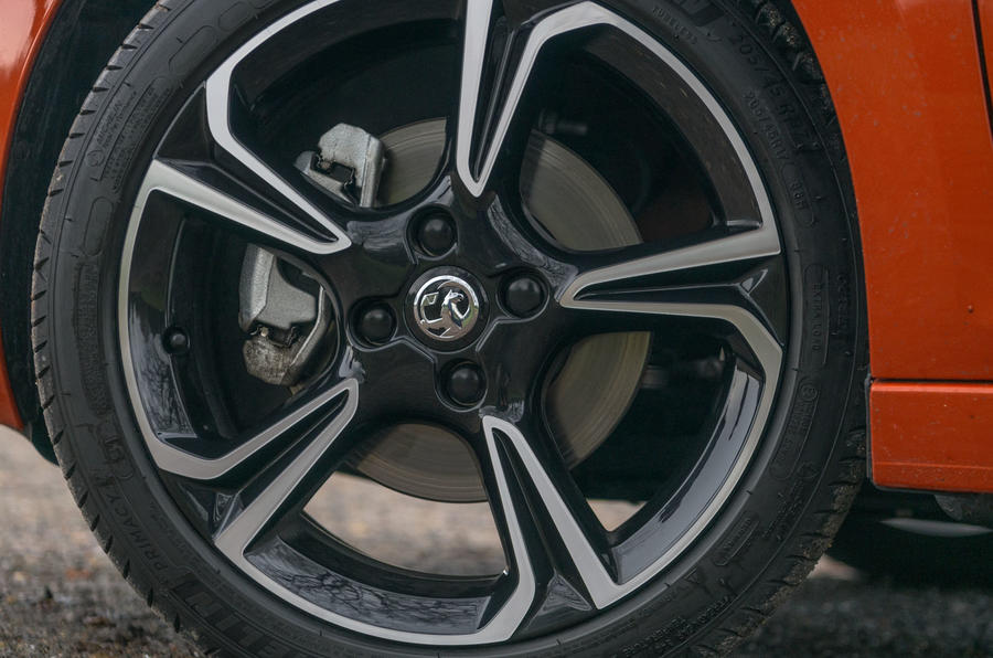 Vauxhall Corsa 2020 road test review - alloy wheels