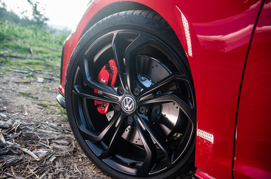 Volkswagen Golf GTI TCR 2019 road test review - alloy wheels