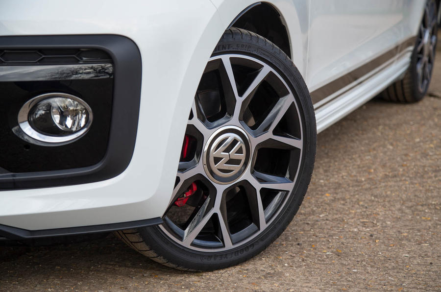 Volkswagen Up GTI 2018 review wheels