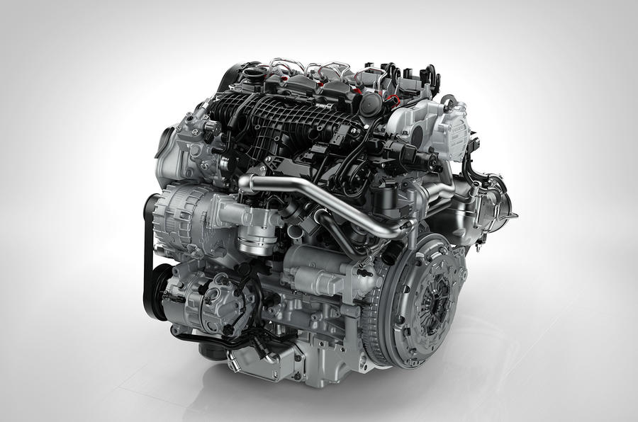 Volvo shows new engine family