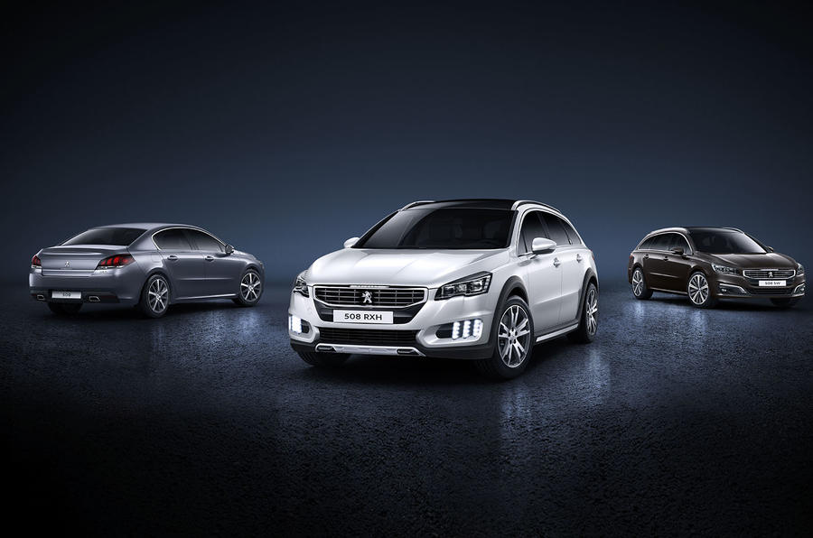 Peugeot 508 could be replaced by two new models