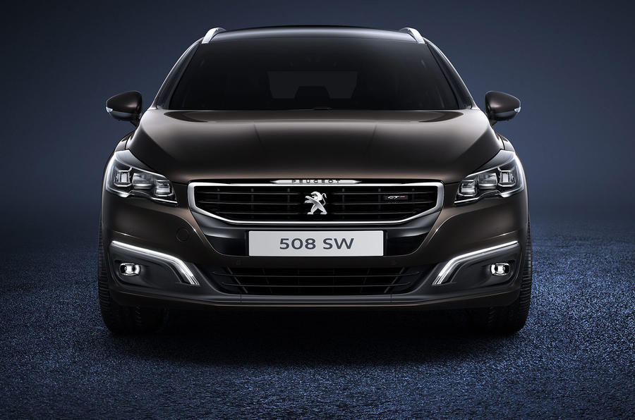 Fresh look and new engines for revised Peugeot 508