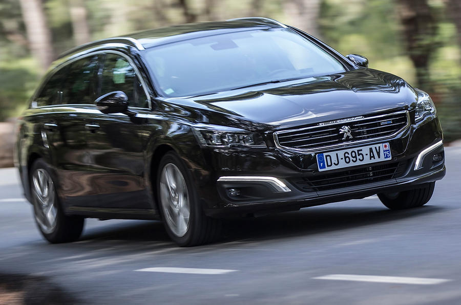 peugeot says the 508 sw can reach 62mph in 10 1 seconds its top speed