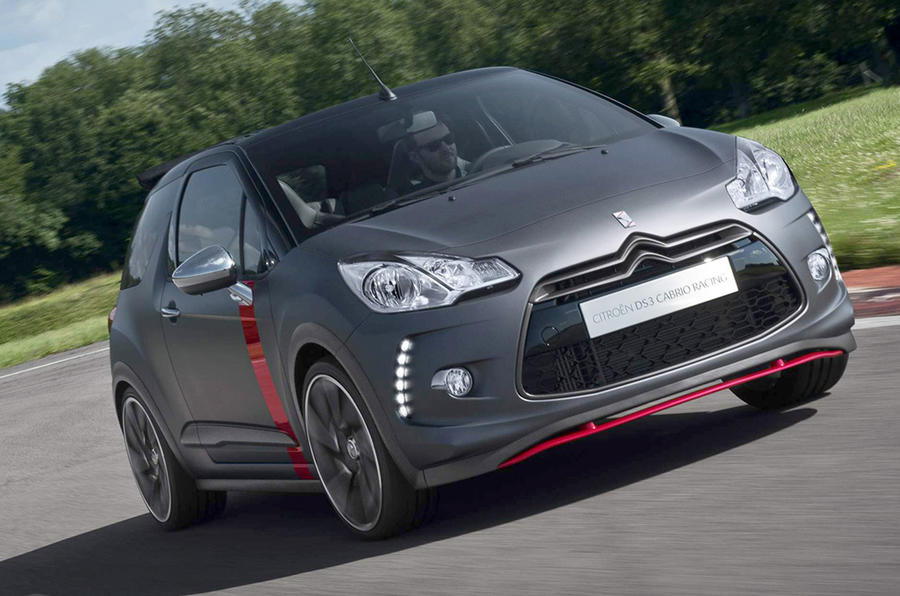 Citroen DS3 Racing Cabriolet confirmed