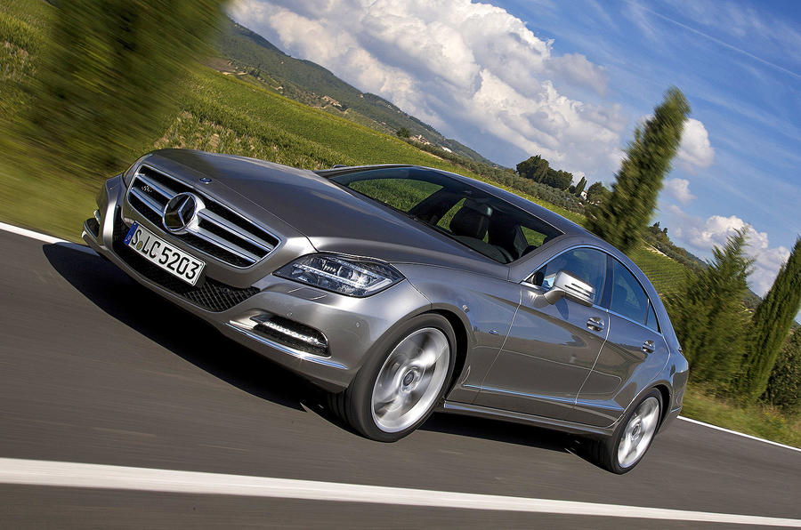 Mercedes-Benz CLS 350 CDI front quarter