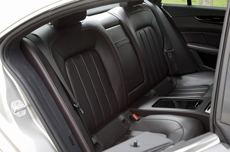 Mercedes-Benz CLS 350 CDI rear seats