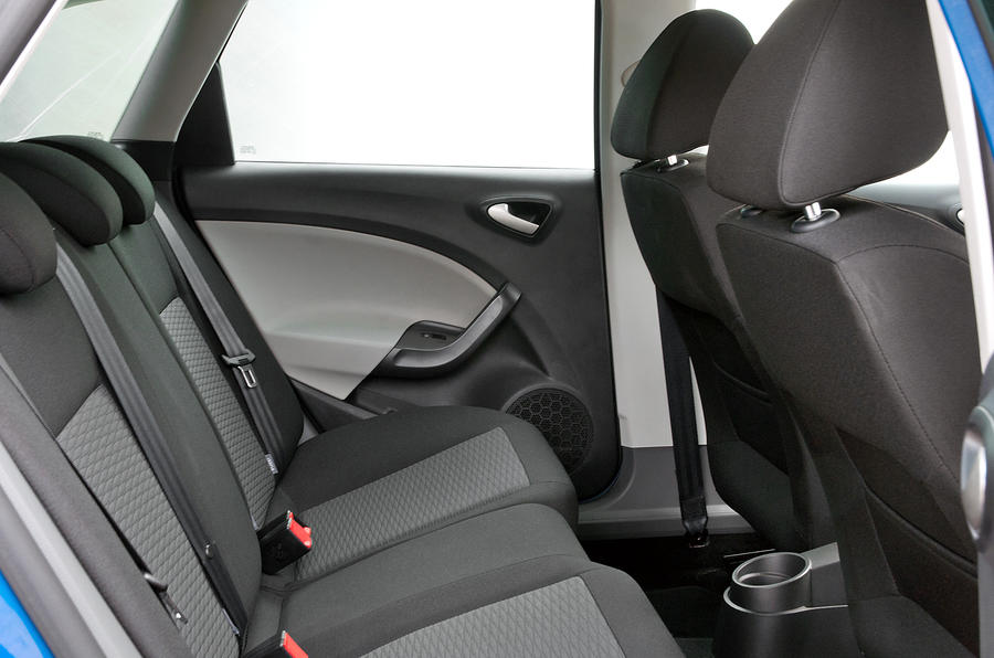 Seat Ibiza ST rear seats