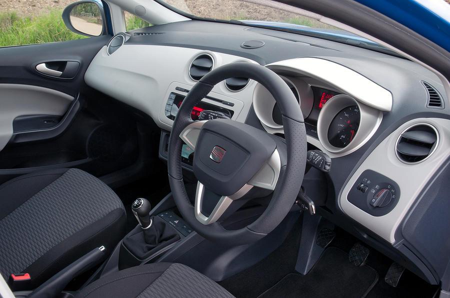 Seat Ibiza ST dashboard