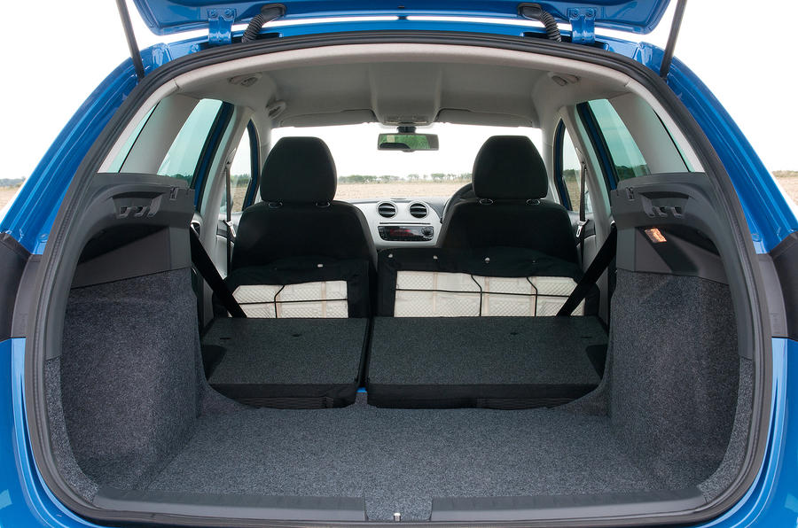 Seat Ibiza ST seating flexibility