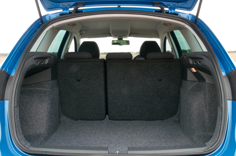 Seat Ibiza ST boot space