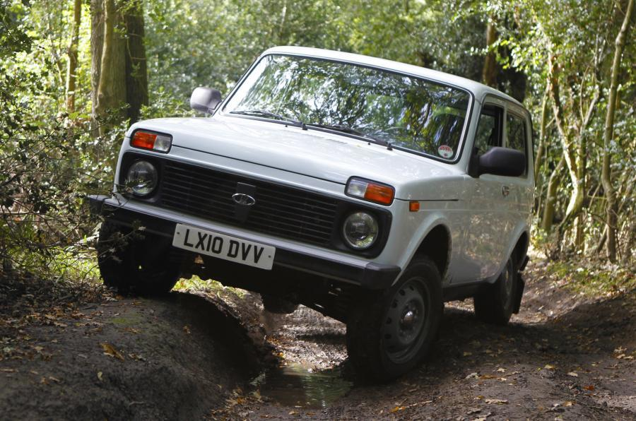 Lada Niva off-roading