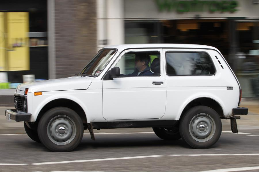 The 80bhp Lada Niva 4x4