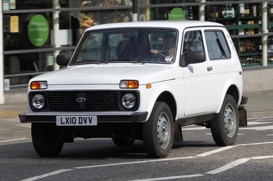 The Russian made Lada Niva