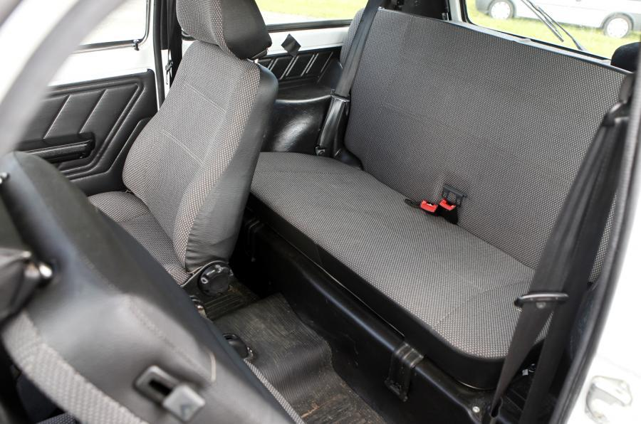Lada Niva rear seats