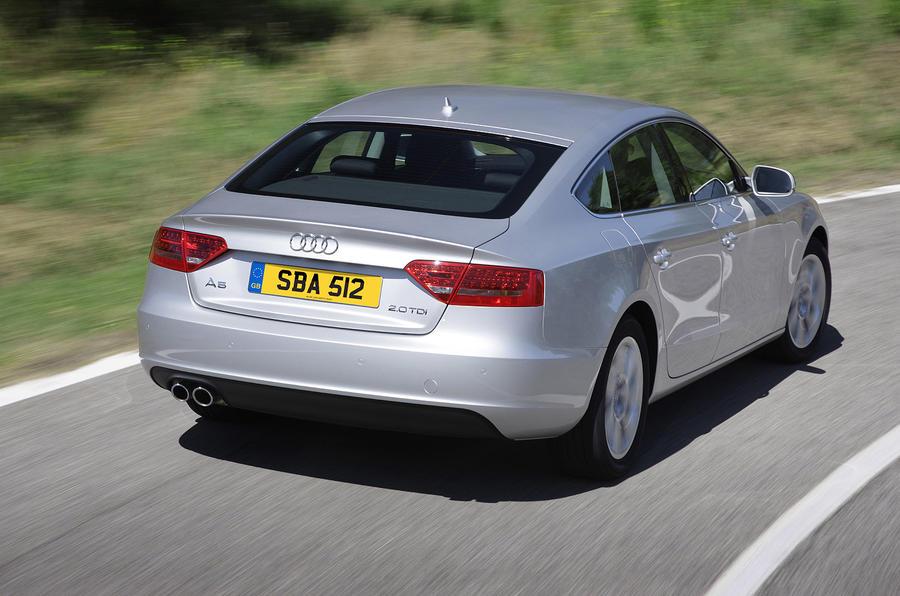 Audi A5 rear